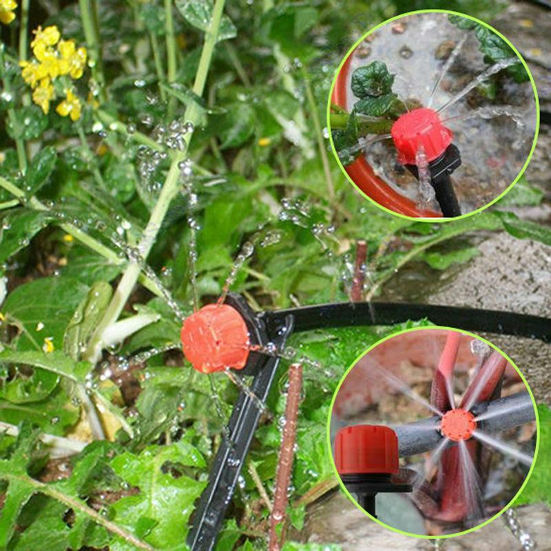 100pcs Drip Head Adjustable Irrigation