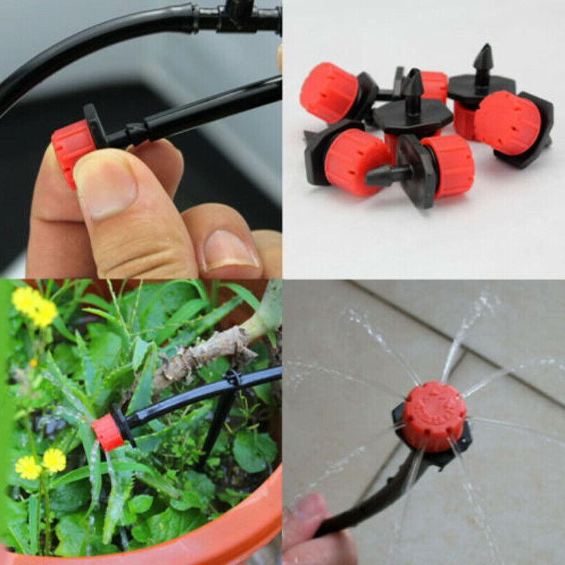 100Pcs/Pack Sprinklers Watering Drippers Drip System On