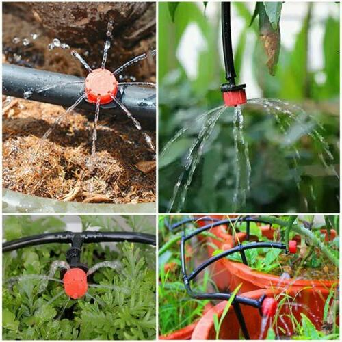 100pcs Garden Sprinklers Water Emitter Dripper Head