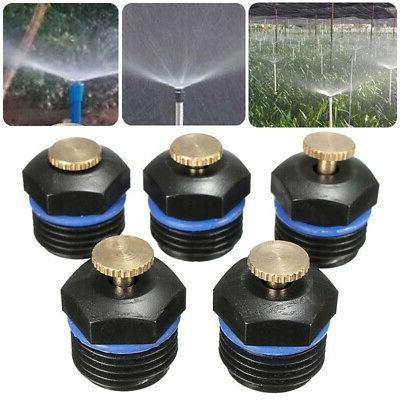 10pcs garden misting lawn irrigation sprinkler head