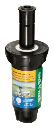 "Rain 1802FDS Dual Spray Pop-Up 360° Circle 8' - Distance, 2"" Pop-up Height"