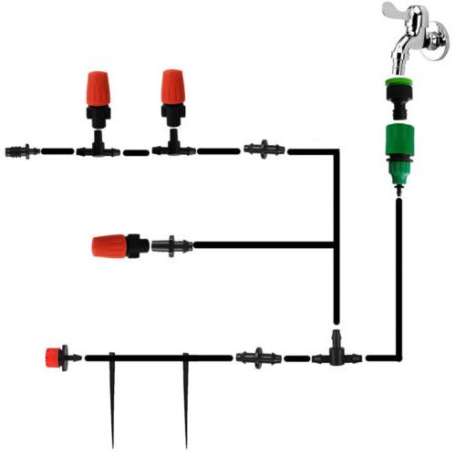184PCS DIY Micro Irrigation System Self Kit