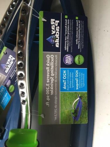 Ray Padula Adjustable Lawn Sprinkler ~ New