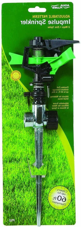 2 way impulse sprinkler garden outdoor watering