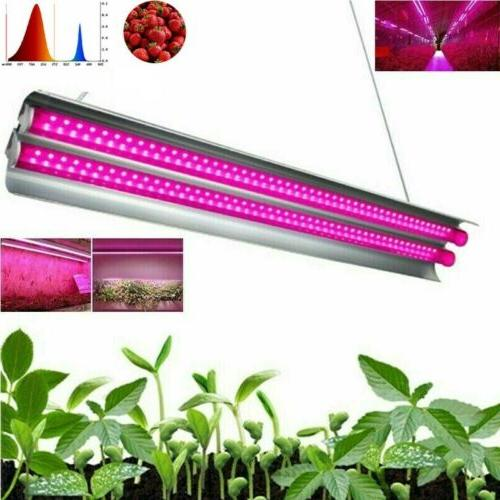 2000W 96LED Grow Light Tube Strip Full Spectrum Lamp Fr Indo