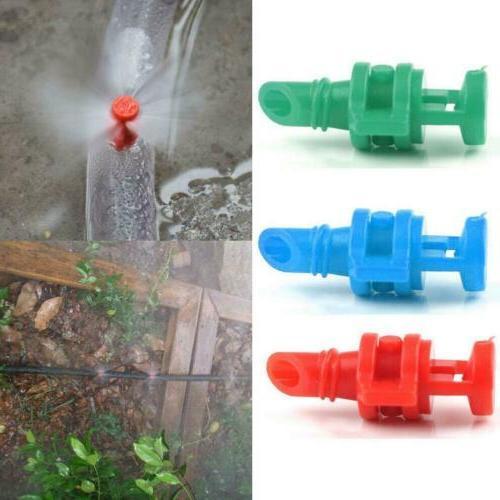 3Colour Micro Garden Lawn Water Spray Misting Nozzle Sprinkl