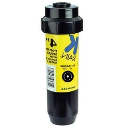 """25 K-Rain 4"""" Sprinklers 15' Adjustable Nozzles"""