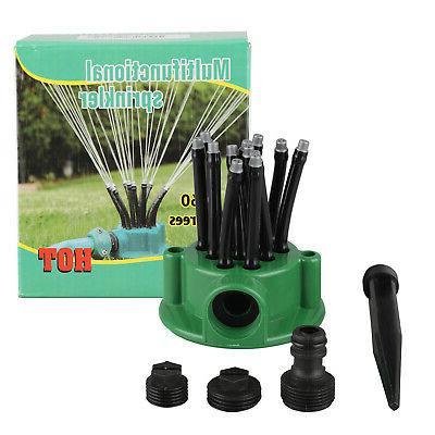 360° Adjustable Sprinkler Automatic Irrigation System