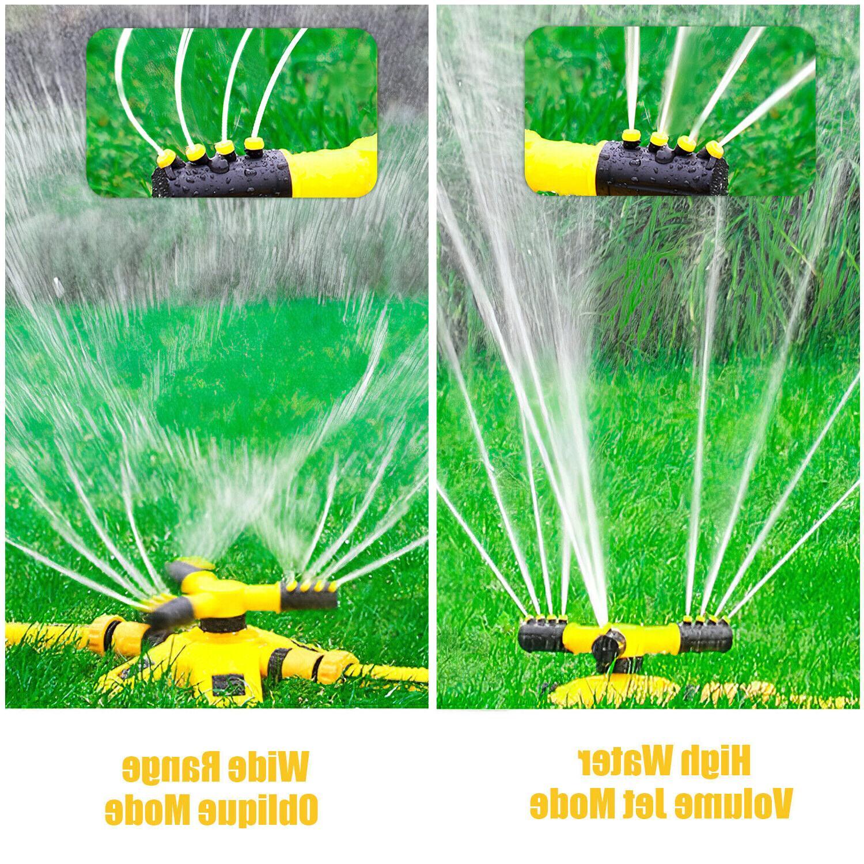 360 Garden Sprinkler System Yard Hose