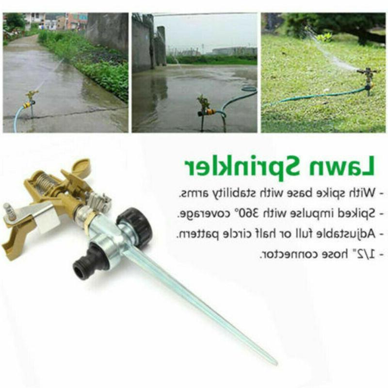 360 Water Sprinkler Lawn Metal