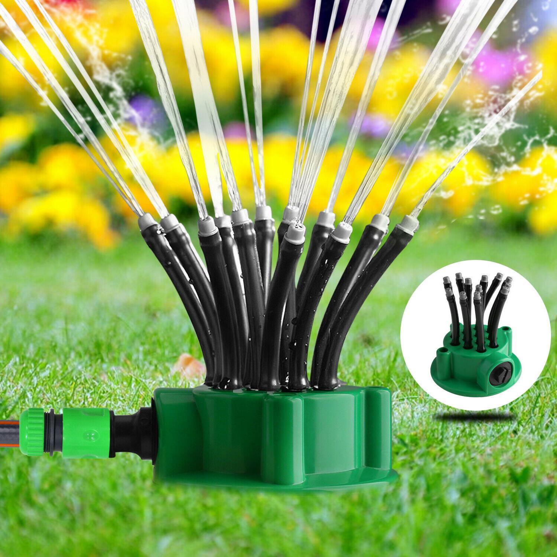 360° Flexible Lawn Garden Sprinklers Automatic Watering Spr