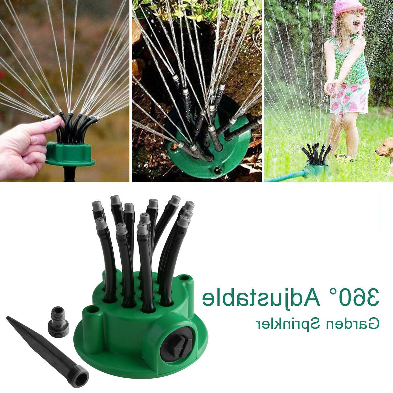 360° Tubes Garden Sprinkler Watering System