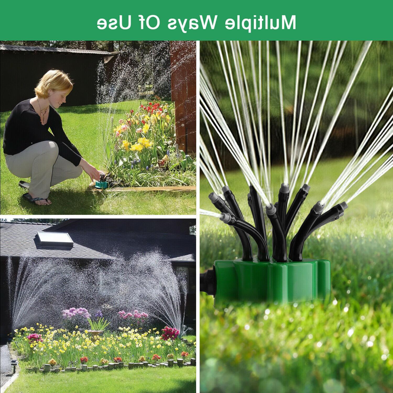 360° Lawn Sprinkler Head Sprayer