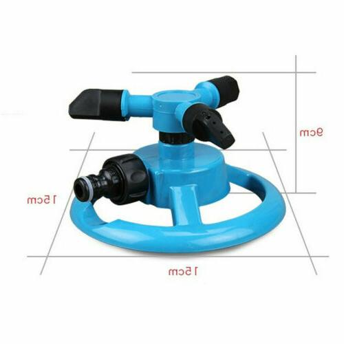 360° Garden Watering Irrigation 3-Arms