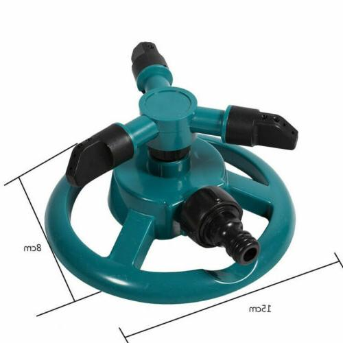 360° Rotating Garden Irrigation 3-Arms System