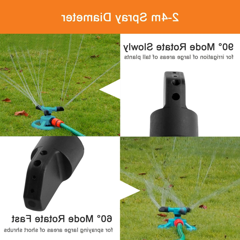 360° System Grass Spray Irrigation
