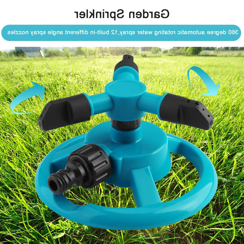360° Rotating Sprinkler Auto Grass Spray System