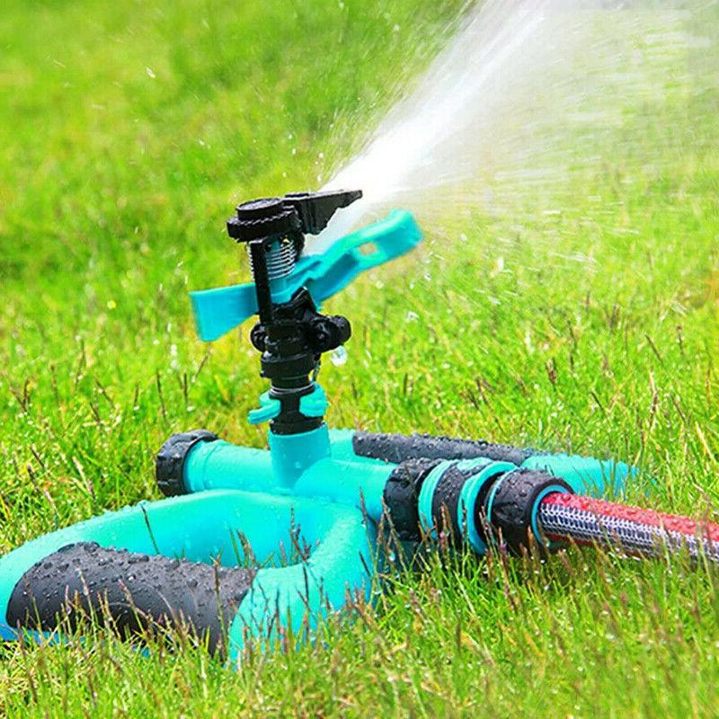 360 rotation lawn sprinkler automatic garden water