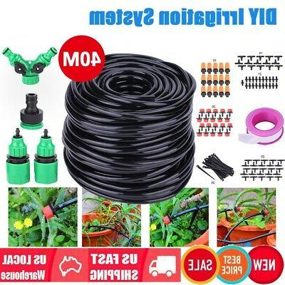 40m automatic garden watering system kits irrigation