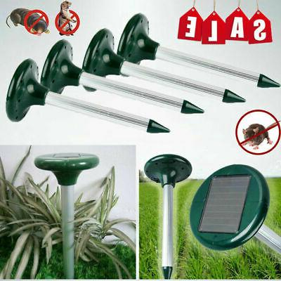 4pack rotatable spike water watering lawn sprinkler