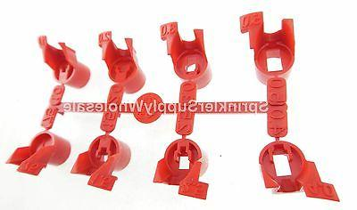 5 SETS Hunter PGJ Standard Nozzle Rack 538700 for PGJ Rotor