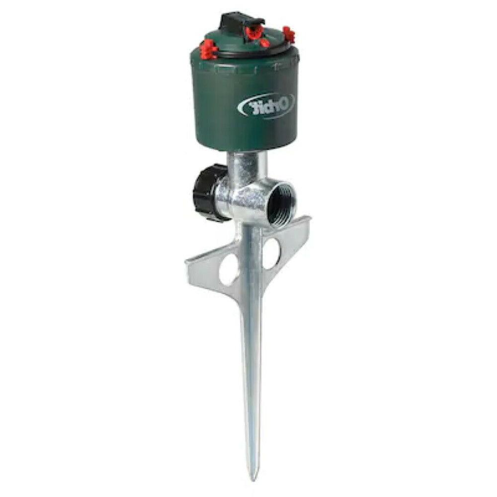 Orbit 5000-sq ft Adjustable Rotating Spike Lawn Sprinkler