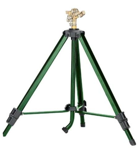 58308n tripod base with brass impact green