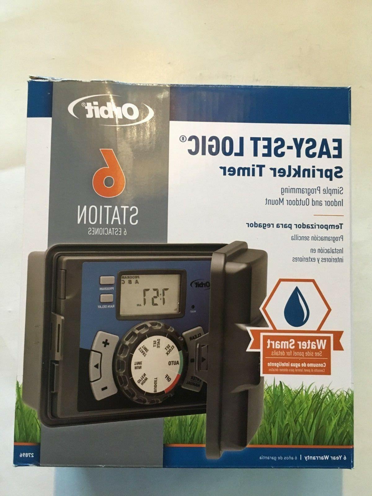 6 station indoor irrigation timer