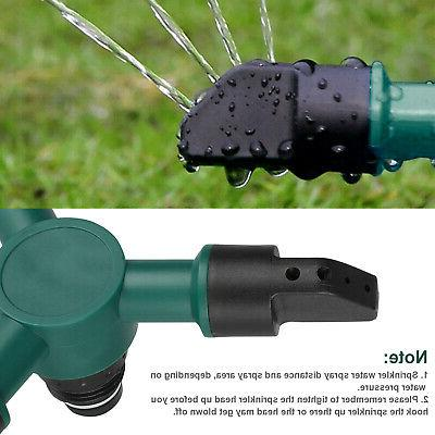 Lawn Sprinkler Automatic Water System 360° Rotation
