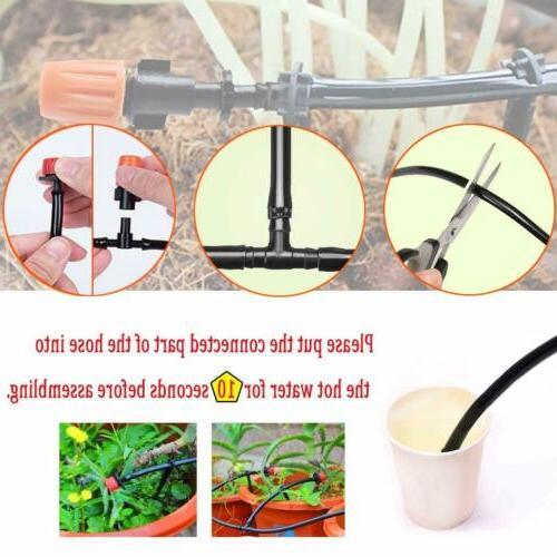 82ft Drip Irrigation System Timer Sprinkler