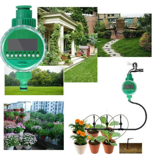 82ft Drip Irrigation System Plant Self Watering USA