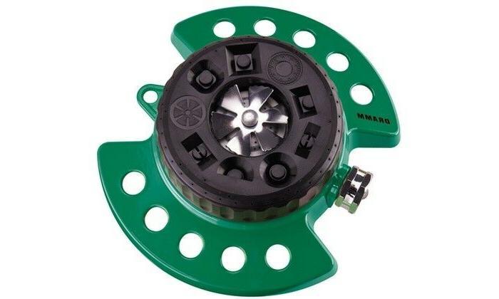 9 adjustable settings sprinkler green