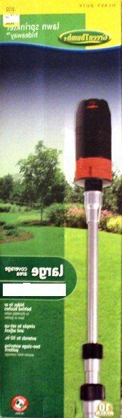 Green Telescopic Adjustable Sprinkler