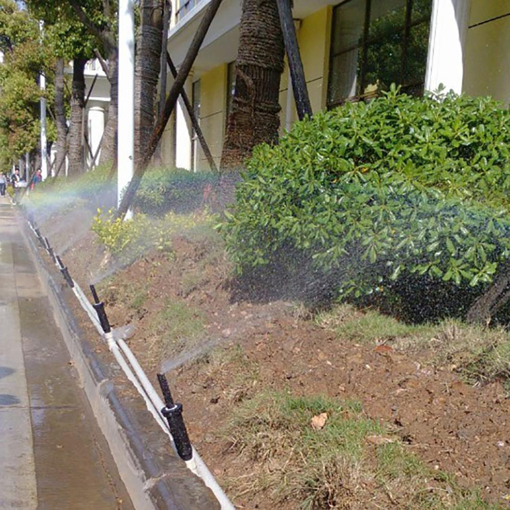 Adjustable 25~360 Inch Internal Popup <font><b>Garden</b></font> Irrigation Watering