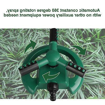 Garden Lawn Watering Rotating Spray Grass Yard