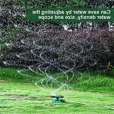 Garden Rotating System Water Spray Grass Yard Care