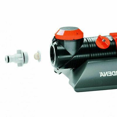 Gardena AquaZoom 3900 Oscillating Sprinkler, Adjustable Controls