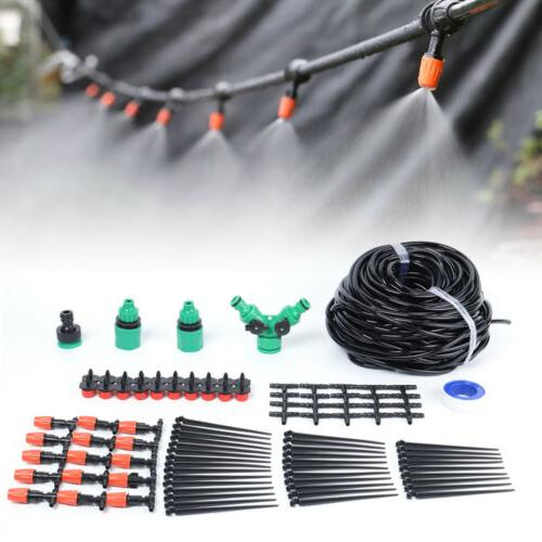 Automatic Drip Irrigation System Kit 40M Micro Garden Watering