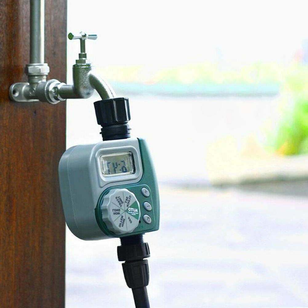 automatic electronic water timer home garden irrigation