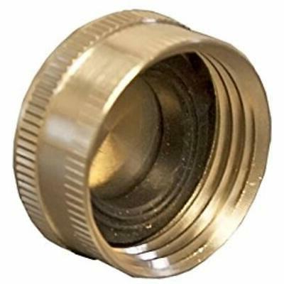 brass hose end cap 10 pack garden