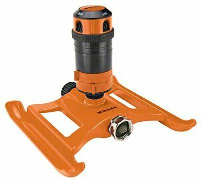 colorstorm 4 pattern gear drive sprinkler orange
