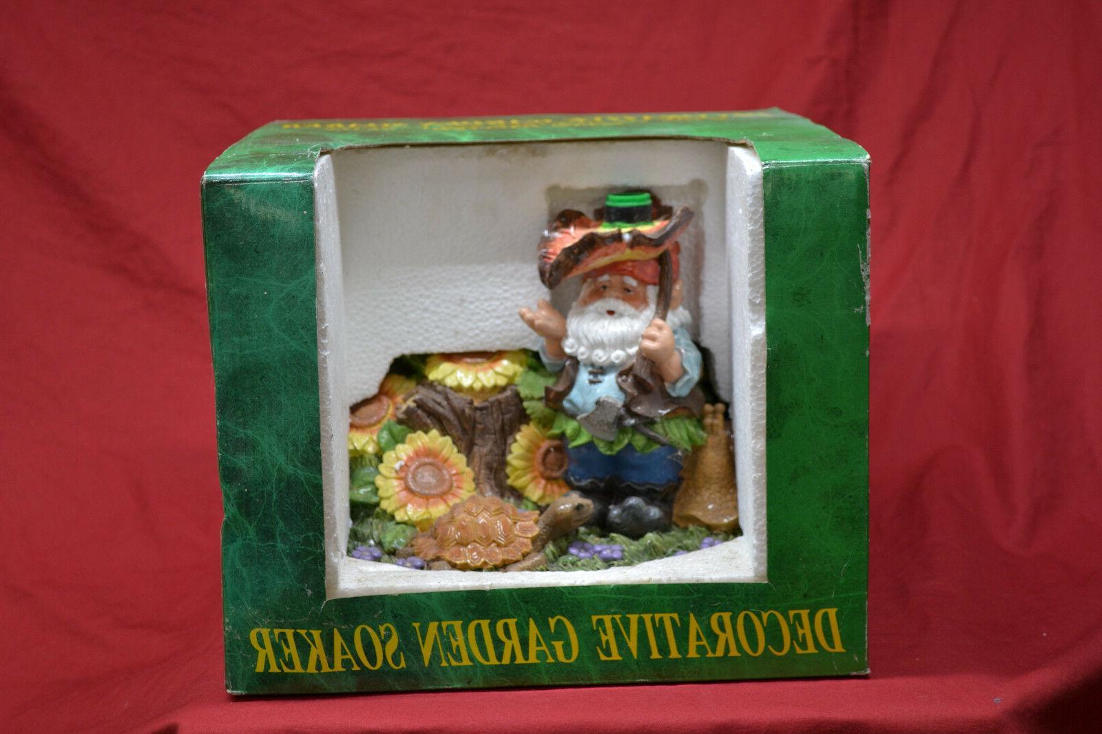 Decorative Gnome Lawn Soaker Outdoor * BRAND NEW