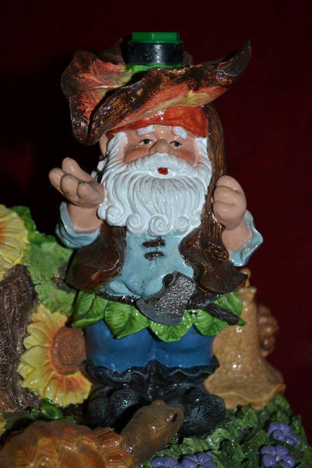 Decorative Gnome Soaker Outdoor NEW