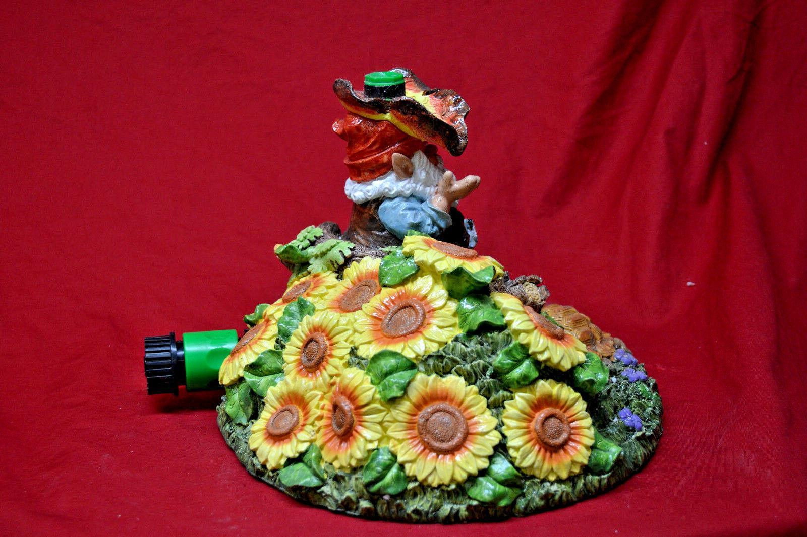 Decorative Gnome Lawn Soaker NEW