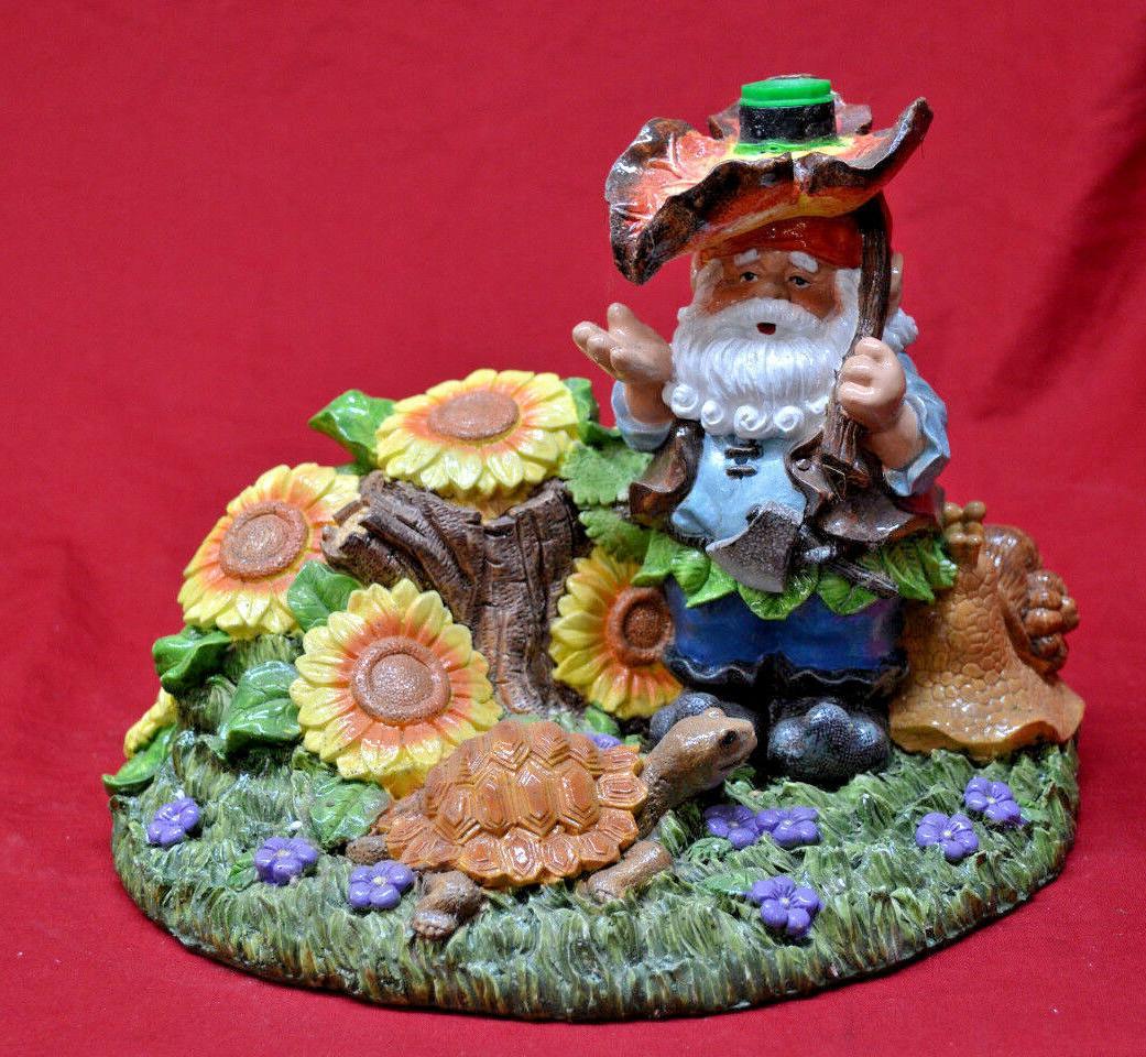 decorative garden gnome lawn soaker outdoor brand