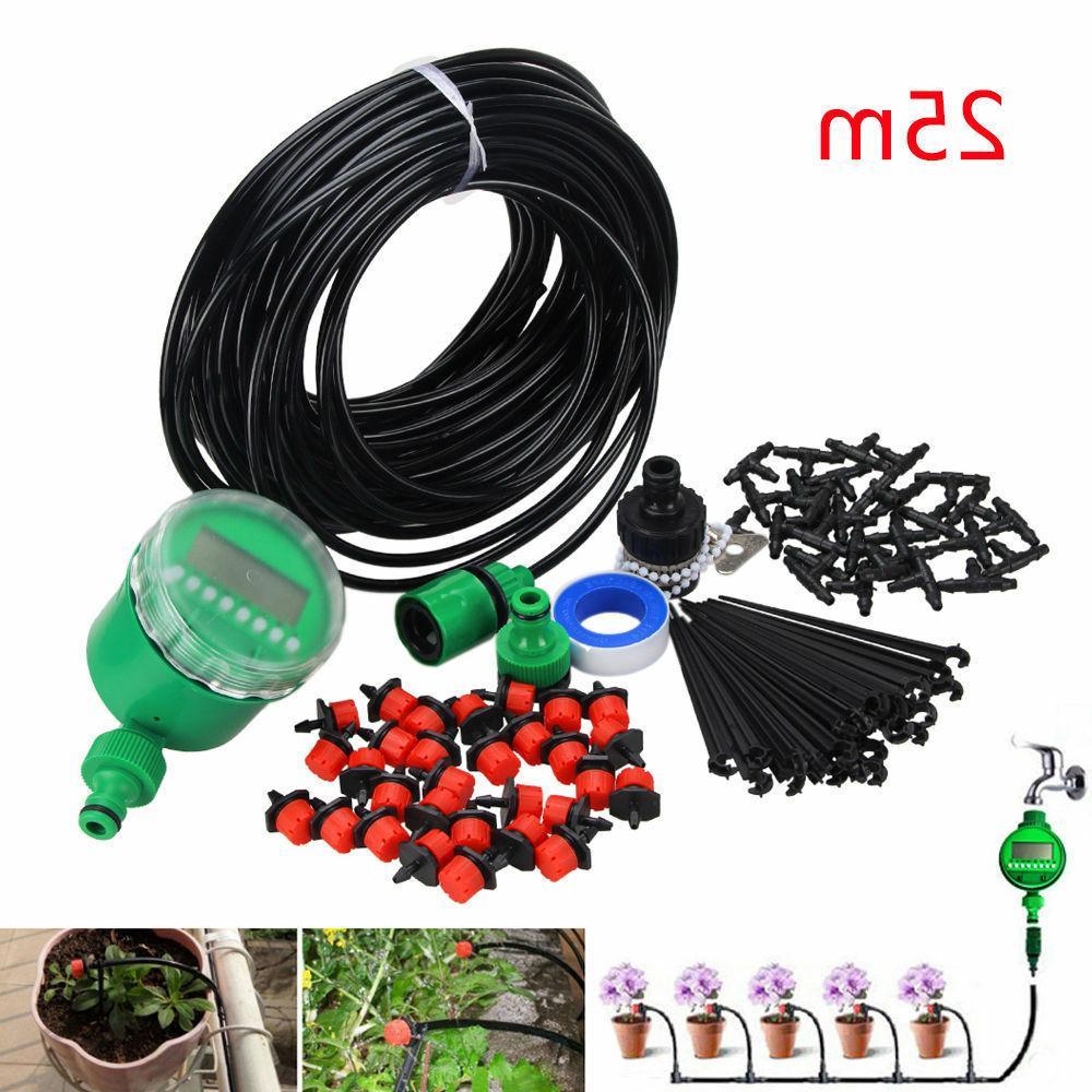 diy micro drip irrigation auto timer self