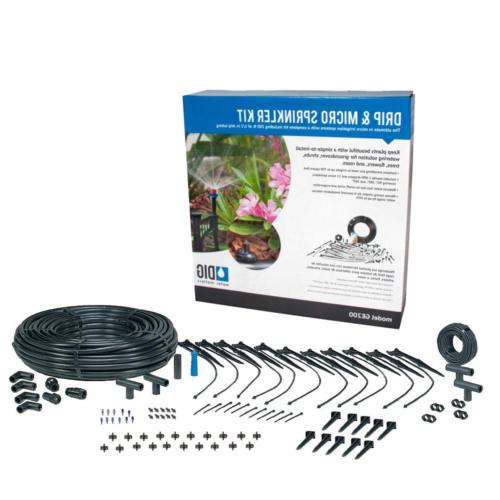 drip and micro sprinkler kit | irrigation dig water system w