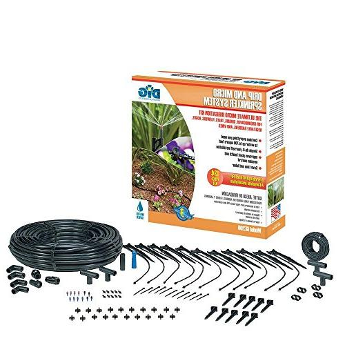 Drip and Micro Sprinkler Irrigation Watering Kit
