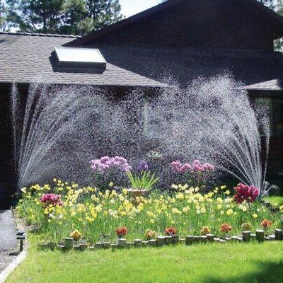 Garden 360 Multi-head Automatic Watering Nozzle Lawn Sprinklers