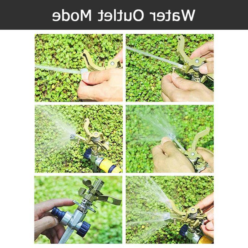 Garden Lawn Degree Adjustable Spike Grass Hose